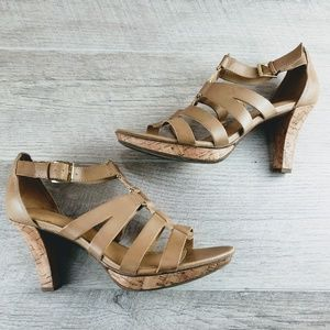 Naturalizer Strappy Heeled Sandals